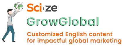 Grow Global Content Marketing in English